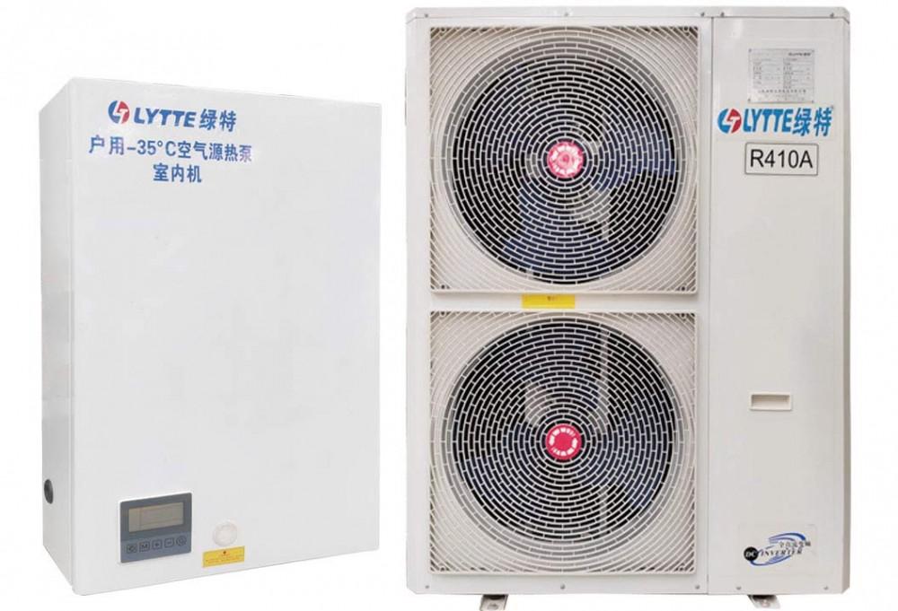 北方户用-35℃超低温空气源变频分体采暖机组